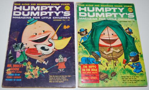 Vintage humpty dumpty's magazine 2
