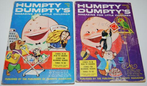 Vintage humpty dumpty's magazine 6