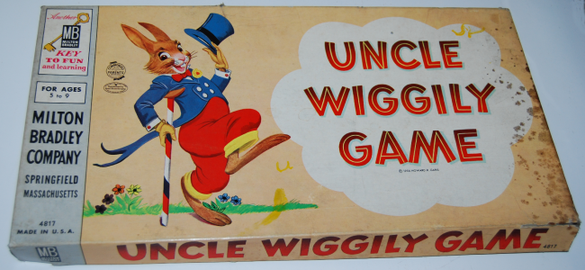 milton bradley uncle wiggily game