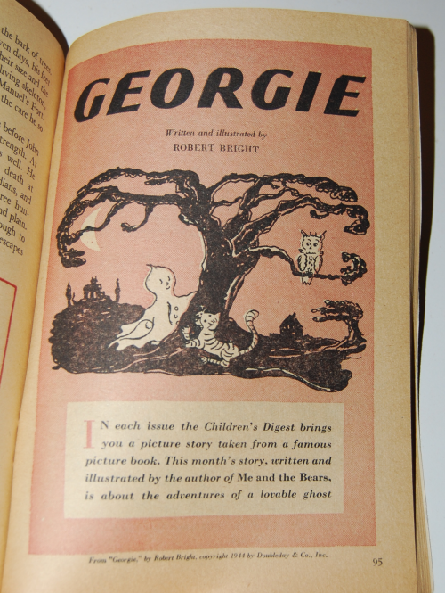 Vintage children's digest 9