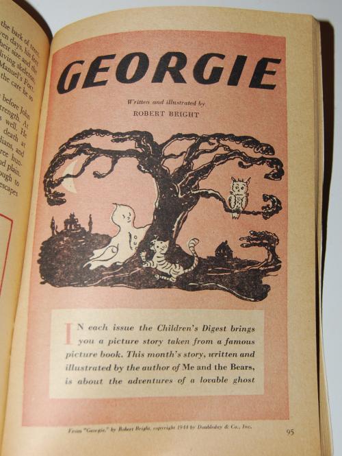 Vintage children's digest 9