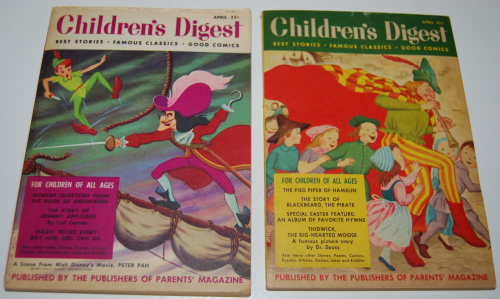 Vintage children's digest x