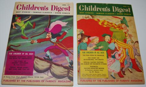 Vintage children's digest x