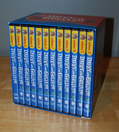 Davey & goliath 50th anniversary dvd collection x