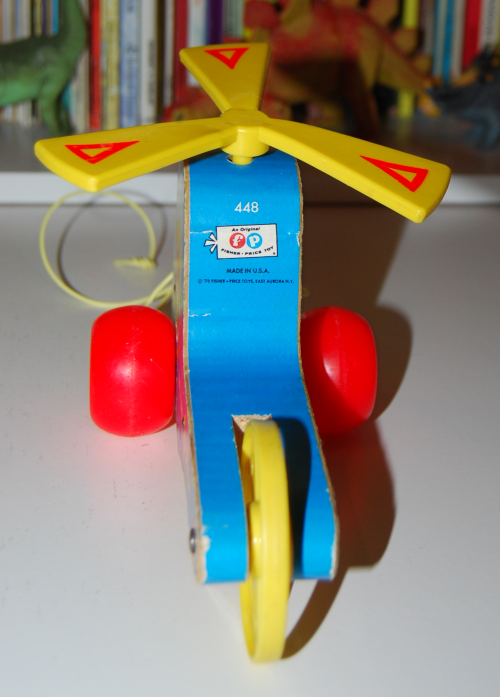 Fisher price mini kopter 3