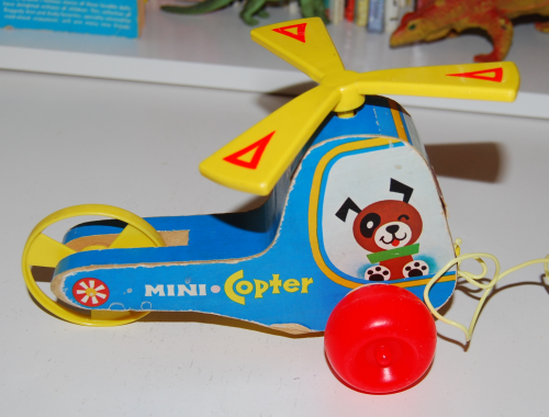 Fisher price mini kopter