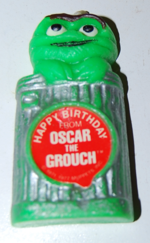 Vintage sesame street birthday candles 2