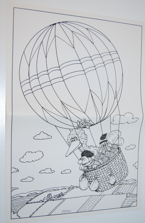 Sesame street big bird whitman coloring pages 6