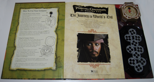 Pirates of the caribbean at world's end book & viewer