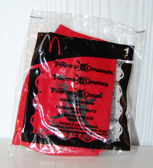 Pirates of the caribbean happy meal toys 5