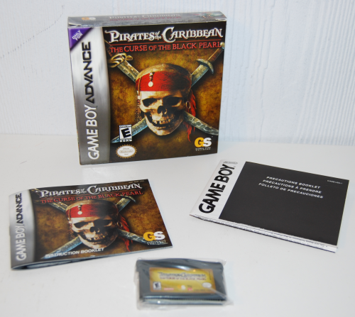 Pirates of the caribbean gameboy advance game
