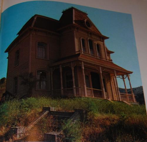Vintage universal studios ephemera bates house