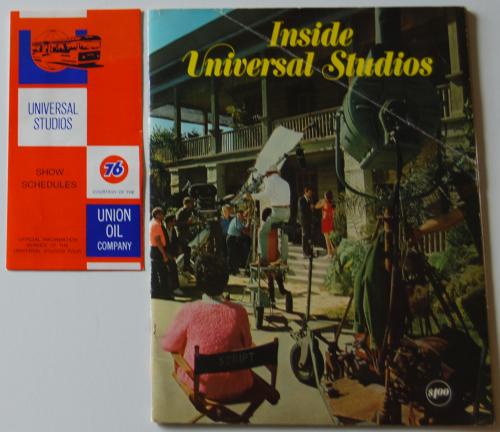 Vintage universal studios ephemera