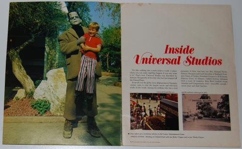 Vintage universal studios ephemera x