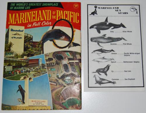 Vintage marineland ephemera