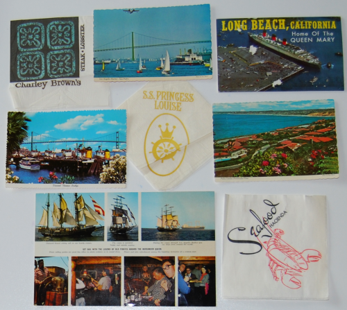 Vintage long beach ephemera x