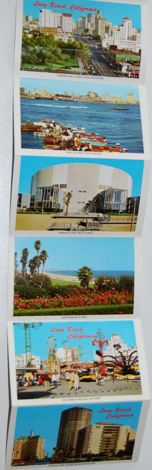 Vintage long beach ephemera