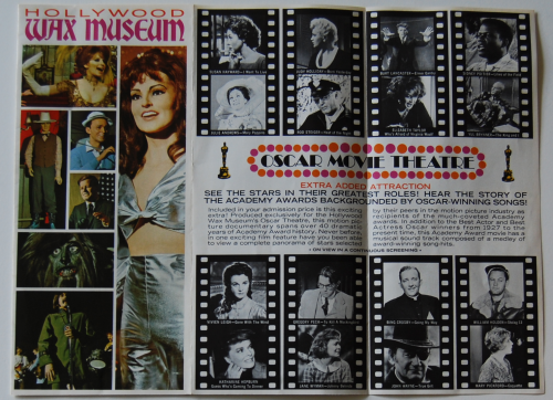 Vintage hollywood wax museum
