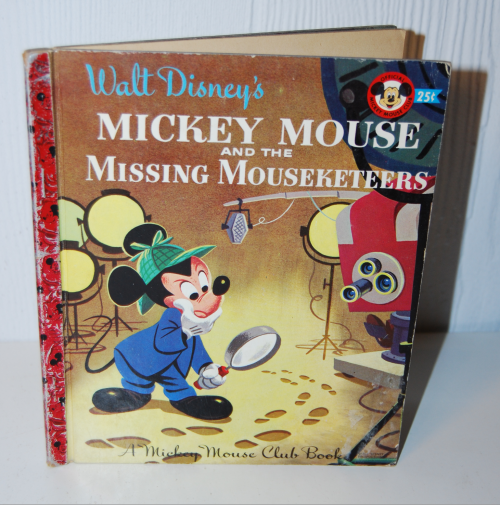 Mickey mouse & the missing mouseketeers book