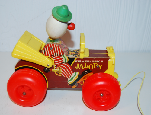 Vintage fisher price jalopy 1