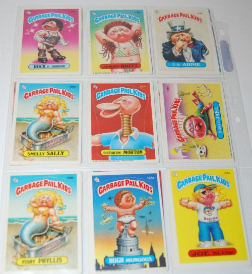 Garbage pail kids cards 10