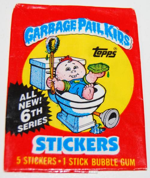 Garbage pail kids cards 6th series