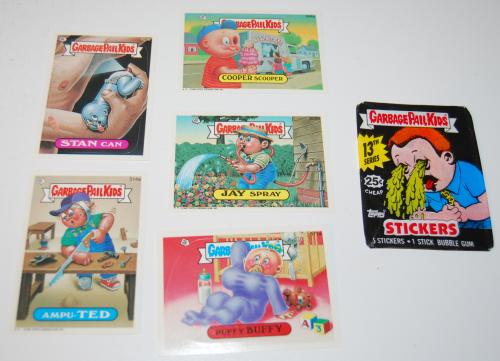Garbage pail kids cards 1988 1