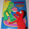 Gumby & pokey coloring book whitman