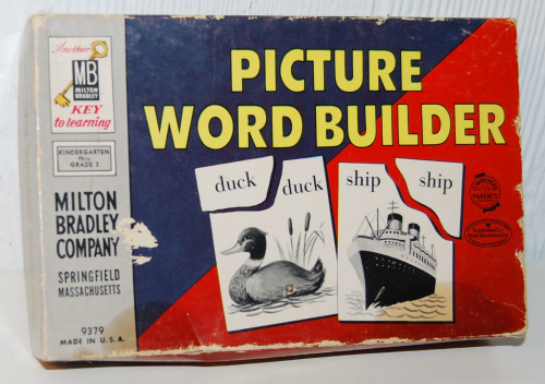 Milton bradley picture word builder