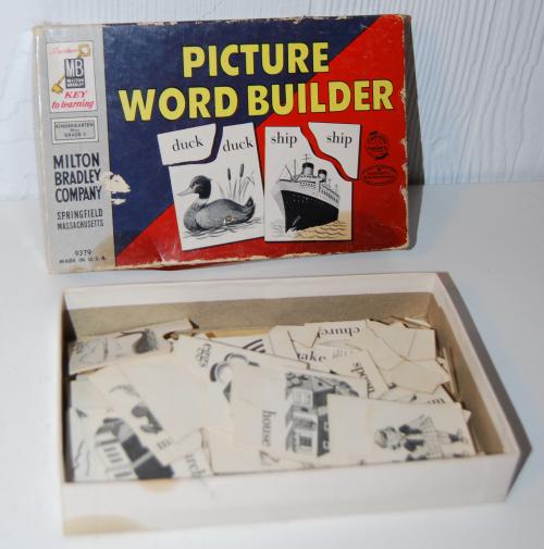 Milton bradley picture word builder 2