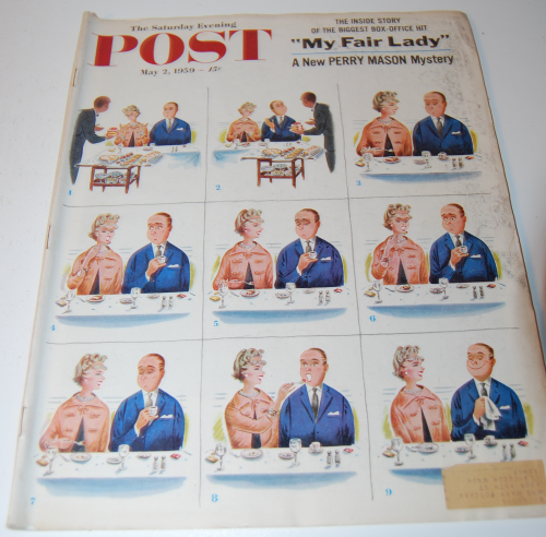 Sat eve post mag may 1959