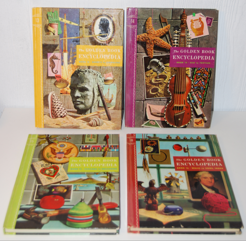 The golden book picture encyclopedia set 8