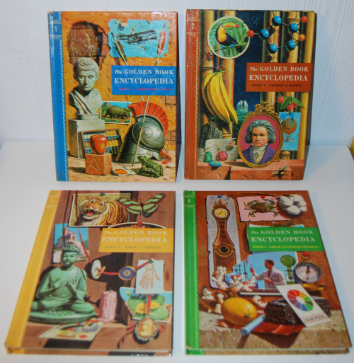 The golden book picture encyclopedia set