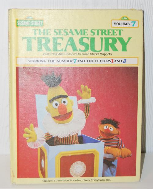 Sesame street treasury set
