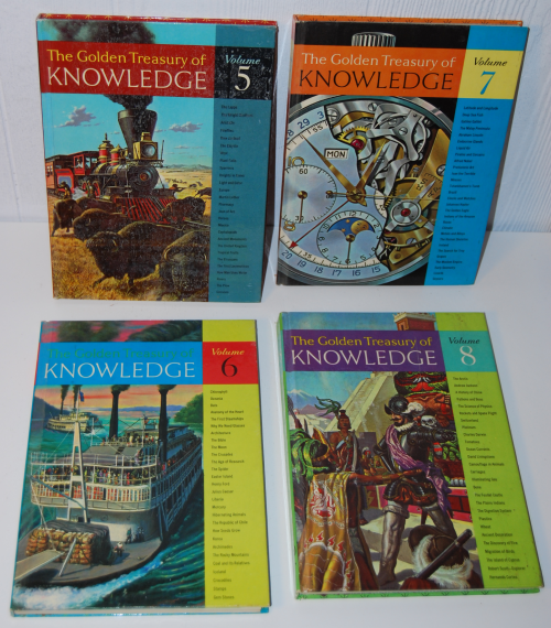 The golden treasury of knowledge 1