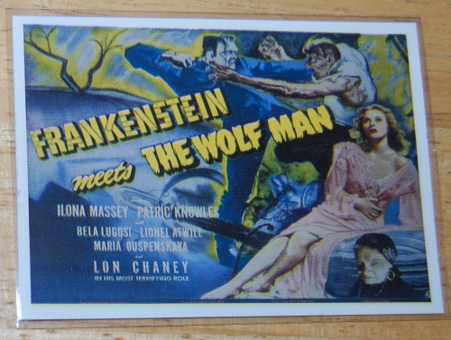 Universal monsters cards 16