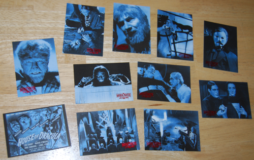 Universal monsters of thr silver screen cards 3