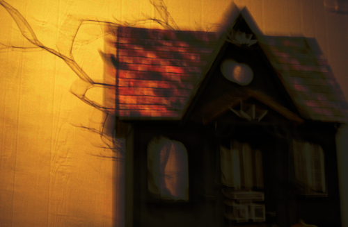 Halloween house by ghost