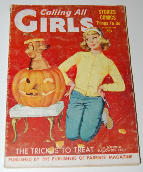 Calling all girls october 1959