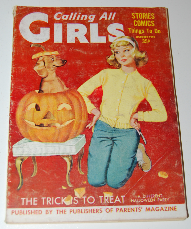 calling all girls ~ october 1959