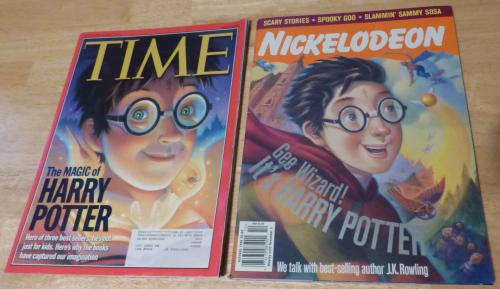 Harry potter mags