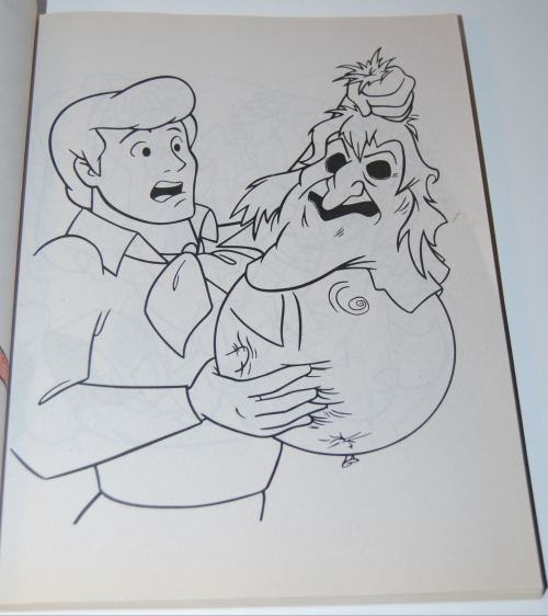 Scooby doo shagadelic coloring book 2