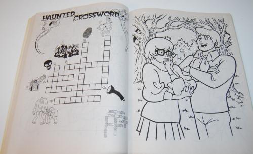 Scooby doo shagadelic coloring book 7