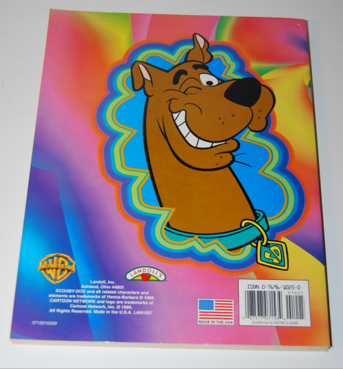 Scooby doo shagadelic coloring book x