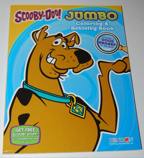 Scooby doo jumbo coloring book
