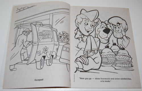 Scooby doo jumbo coloring book 2