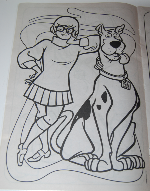 Scooby doo giant coloring book 7