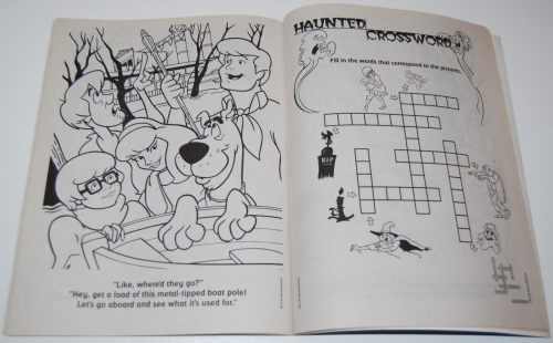 Scooby doo coloring book 2