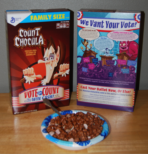 Vote count chocula