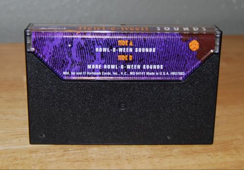 Hallmark halloween sounds cassette